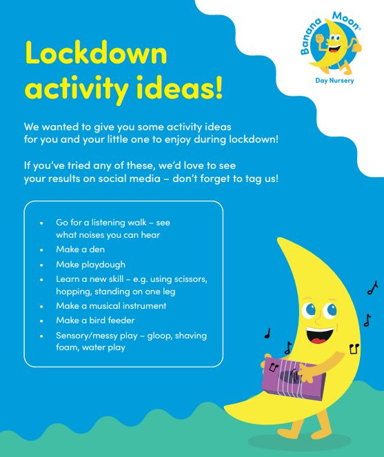 Lockdown Activity Ideas!